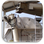 Feed mill bulk load out